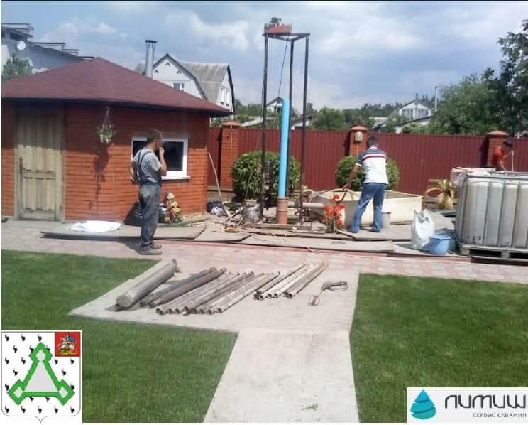 бурение и ремонт скважин в Волоколамском районе цена