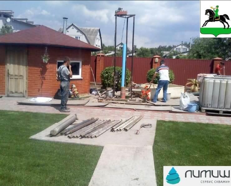 бурение и ремонт скважин на воду в Клинском районе цена