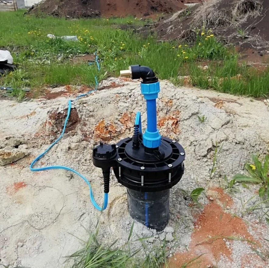Летнее обустройство скважины на воду