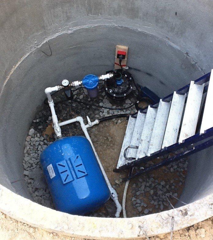 гидроаккумулятор для скважины подключение